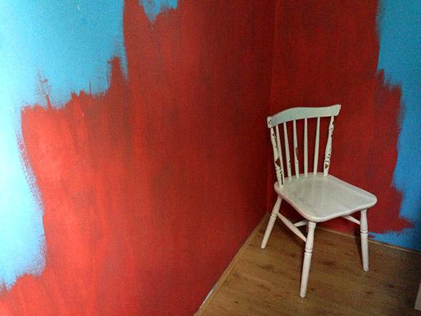 Midas nieuwe kamer and the plog thickens - Ruimte van de jongen kleur schilderen ...