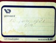 Een dagboek van mijn vader