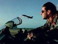 Tom Cruise op een motor